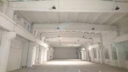 gamybinės patalpos prieš dažymą